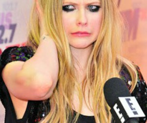 Avril Lavigne, funny, and funny face image