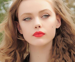 frida gustavsson, beauty, and lips image