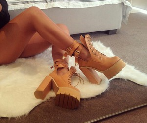 high heels, shoes, and heelss image