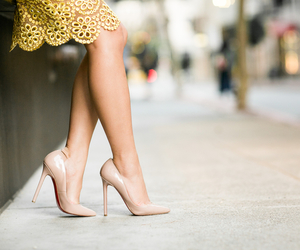 fashion, Nude, and style image