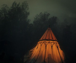 nature, tent, and adventure image