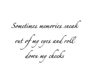 cheeks, memories, and quote image