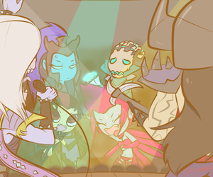 elise, league of legends, and thresh image
