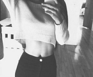 black and white, tumblr, and girls image