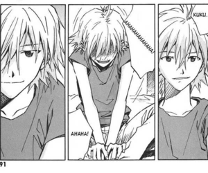 manga, Neon Genesis Evangelion, and kaworu nagisa image