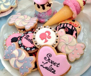 barbie, sweet, and Cookies image