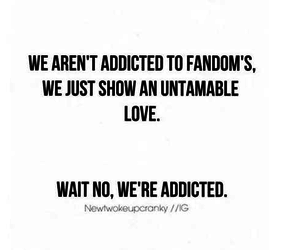 fandom and so true image