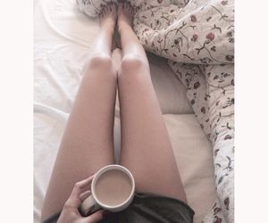 bed, legs, and skinny image