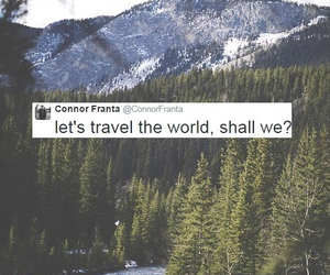 connor franta, travel, and world image