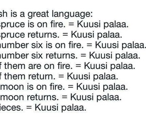 finnish, finland, and language image