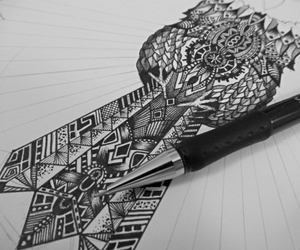 art, beginning, and black image