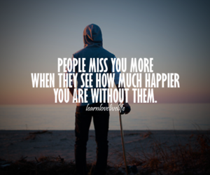 miss, happy, and quotes image