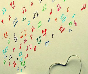 music and love image