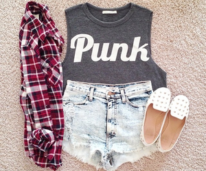 fashion, outfit, and punk image