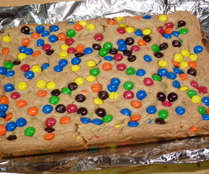 brownies, chocolate, and colorful image