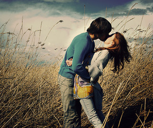 beautiful, couples, and in love image
