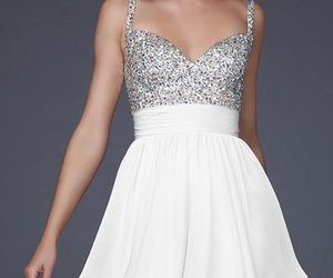 dress and white image