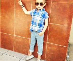 boy, little, and style image
