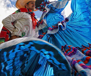 blue, colorful, and charro image