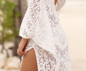 dress, lace, and summer image