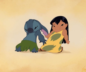 disney, elvis, and lilo and stitch image