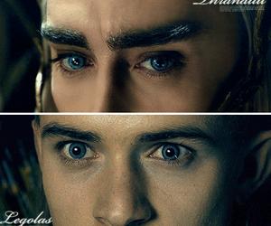 Legolas, yeux, and thandruil image