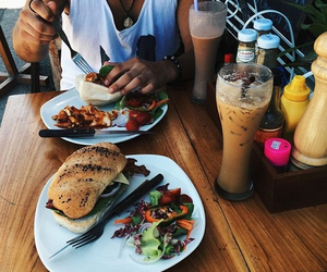 food, summer, and lunch image
