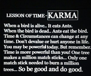 karma, quotes, and life image