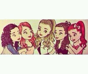 ariana grande, ariana, and drawing image