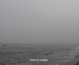 alone, cry, and empty image