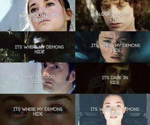 demons, imagine dragons, and harry potter image