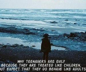 quotes, sea, and teenager image