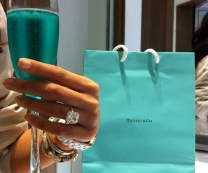 luxury, blue, and ring image
