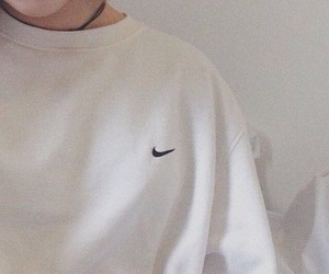 nike, aesthetic, and white image