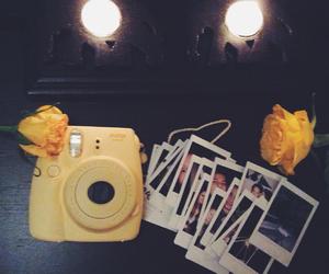 beautiful, polaroid, and yellow image