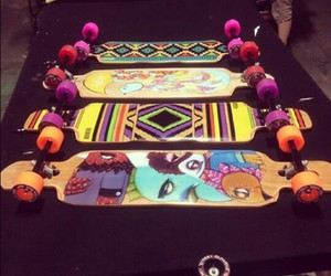 beautiful, longboard, and collection image