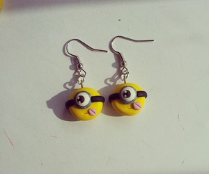 minions, orecchini, and cute image