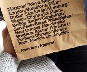 american, apparel, and bag image