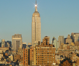 architecture, empire state building, and new york image