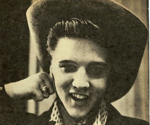 cowboy, Elvis Presley, and music image
