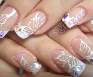 flowers, french, and lilac image