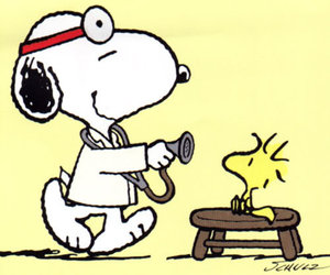 doctor and snoopy image