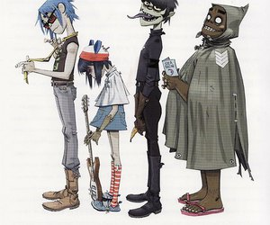 gorillaz, music, and band image