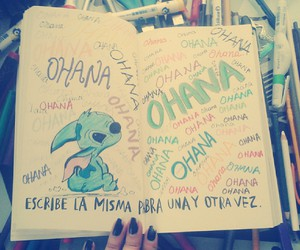 wreck this journal, ohana, and lilo y stich image