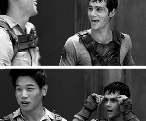 Minho, thomas, and dylan o'brien image