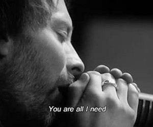 quote, radiohead, and thom yorke image