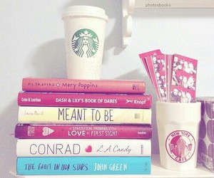 book and starbucks image