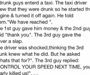 funny, drunk, and taxi image