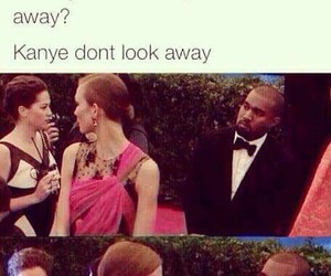 funny, kanye west, and lol image