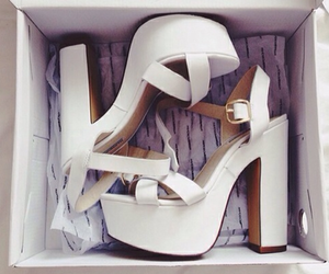 high heels, sandals, and shoes image